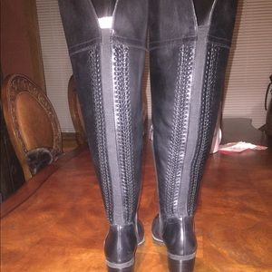 Vince Camuto Leather Ridding Boots